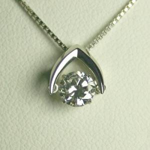 メーカー在庫限り品 ダイヤモンド ネックレス 一粒 プラチナ 0.3カラット 鑑定書付 3EXカット 35%OFF VS2クラス CGL 0.334ct Fカラー Hamp;C