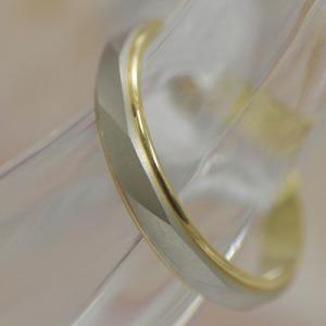 結婚指輪 プラチナ ゴールド ペアリング 安い マリッジリング アンジュ 1本 造幣局検定 筆記体日本語刻印無料|j-kimura