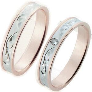 結婚指輪 ペアリング 安い マリッジリング ホワイトゴールド ピンクゴールド ジョイ&ジョイスター ...