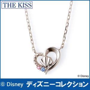 ディズニープリンセスアリエル THE KISS シルバー レディース ネックレス 40cm SV925 キュービック DI-SN1815CB j-kimura