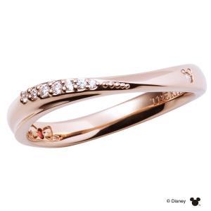 2020年 クリスマス限定ディズニーコレクション ミッキー THE KISS ザ キッス シルバー ペアリング レディース 1本販売 ダイヤモンド SV925製 指輪 DI-SR1502DM j-kimura