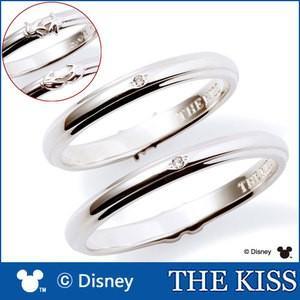 年内不可■ペアリング ディズニー ミッキー ミニー 指輪 THE KISS ダイヤモンド シルバー SV925 ハンドモチーフ ペア DI-SR1814DM DI-SR1815DM|j-kimura