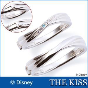 ペアリング ディズニー ディズニープリンセス シンデレラ 指輪 THE KISS シルバー SV925 ペア販売 DI-SR2902BT DI-SR2903 j-kimura