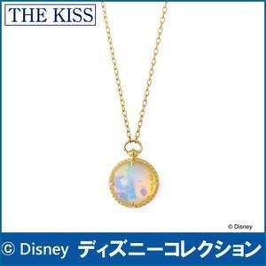 ネックレス ディズニー アリス・イン・ワンダーランド 時間の旅 THE KISS イエローゴールド レディース40cm K10YG オパール DI-YN1900OP|j-kimura