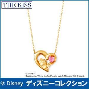 ディズニー くまのプーさん THE KISS sweets イエローゴールド ネックレス レディース K10製 40cm ピンクトルマリン|j-kimura