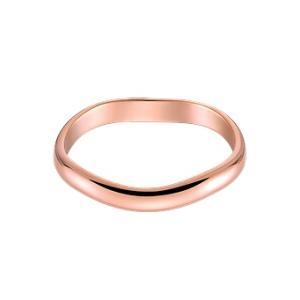 結婚指輪 安い 婚約指輪マリッジリング  ペアリング ピンクゴールド K18PG製 1本販売 送料無料 コンピュータ刻印 刻印無料|j-kimura