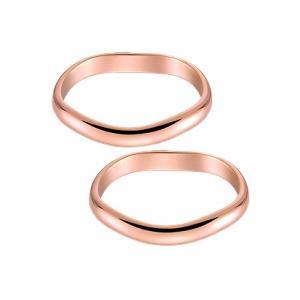 結婚指輪 安い 婚約指輪 マリッジリング ペアリング ピンク ゴールド K18PG製 ペア販売 最短翌日出荷 送料無料 コンピュータ刻印 刻印無料|j-kimura