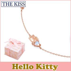 ハローキティxTHE KISSコラボ HELLO KITTY THE KISS sweets K10 ピンクゴールド ブレスレット18cm ロイヤルブルームーンストーン ピンクサファイア KITTY-31DM|j-kimura