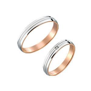 結婚指輪 プラチナ ピンクゴールド ペアリング 安い マリッジリング Pt900 K18PG ペア販売 筆記体日本語刻印無料|j-kimura