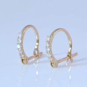 誕生日 プレゼント 贈り物 フープ ダイヤ 輪のピアス フープピアス です。   商品説明  □材質...
