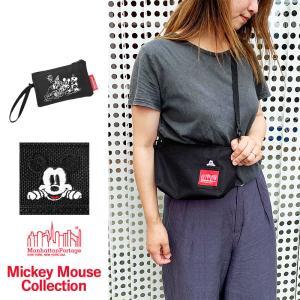マンハッタンポーテージ ミッキーマウス ディズニー コラボ Manhattan Portage ショ...