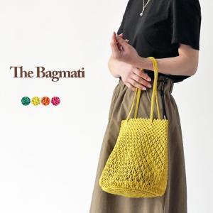 The Bagmati バグマティ メッシュバッグ ミニトートバッグ マクラメ編み かごバッグ レース編み ハンドバッグ 170805WC/170805N|j-piaplus