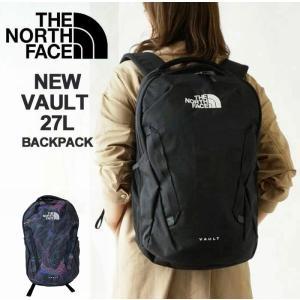 ノースフェイス リュック THE NORTH FACE バックパック VAULT ヴォルト 27L リュックサック デイパック NF0A3VY2 ブラック ネイビーの画像