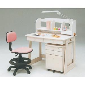 学習デスク 5点セット KW733 学習机 勉強机 キャビネット LEDライト イス付 子供机