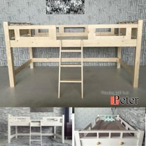 ロフトベッド ピーター 階段 木製 シングル ...の詳細画像5