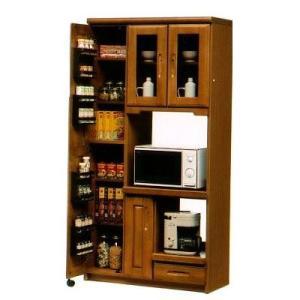 オリビア 90cm幅収納レンジ 木製 シンプル ダイニングボード 食器収納 食器棚 家電収納 キッチン収納 カップボード キッチンカウンター |j-plan