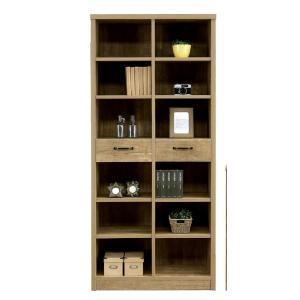 本棚 収納棚 書棚 フリーボード 80クアトロ MDF 強化紙 多目的収納ラック|j-plan