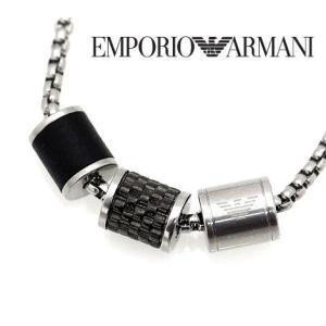 EMPORIO ARMANI エンポリオ アルマーニ EGS2383020 アクセサリー イーグルロゴ 3連リング ネックレス/ペンダント|j-sekine2nd
