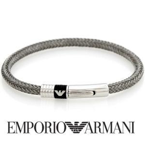 EMPORIO ARMANI  エンポリオ アルマーニ EGS1623 アクセサリー ブレスレット シルバー イーグルロゴ|j-sekine2nd