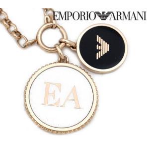 EMPORIO ARMANI エンポリオ アルマーニ EGS2585221 アクセサリー イーグルロゴ ネックレス/ペンダント マザー・オブ・パール ピンクゴールド|j-sekine2nd