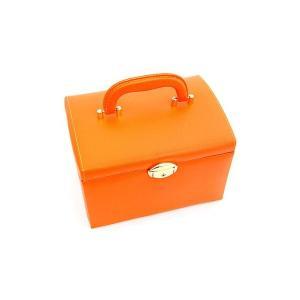 ジュエリーボックス JewelryBox 宝石箱 JB-8200 オレンジ×ゴールド|j-sekine2nd