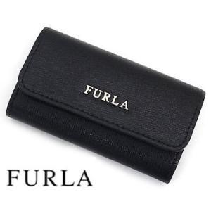 FURLA フルラ PL71 920783 BNZZ BABYLON レザー6連キーケース オニキスブラック|j-sekine2nd