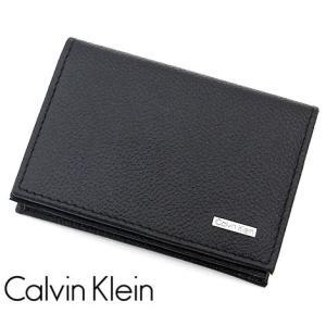 Calvin Klein カルバンクライン 79218 カードケース 名刺入れ メンズ ブラック|j-sekine2nd