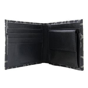 Calvin Klein カルバンクライン 79463 小銭入れ付 二つ折り財布 PVC メンズ ブラック|j-sekine2nd|03