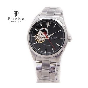 Furbo  フルボ F5029BKSS メンズ 腕時計 自動巻 シルバー×ブラック|j-sekine2nd
