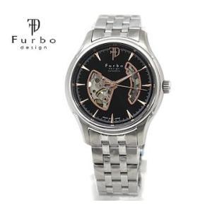 Furbo  フルボ F5025NBKSS メンズ 腕時計 自動巻 シルバー×ブラック×ローズゴールド|j-sekine2nd