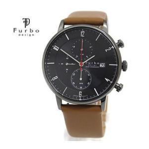 Furbo  フルボ F761-GBKLB メンズ 腕時計 ソーラー クロノグラフ ブラウン×ブラック|j-sekine2nd
