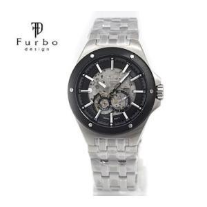 Furbo フルボ F2501BKSS メンズ 腕時計 自動巻 シルバー×ブラック|j-sekine2nd