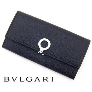 8d9eaccb7111 BVLGARI ブルガリ 30414 BLACK ブルガリ・ブルガリ 小銭入れ付 長財布 ...