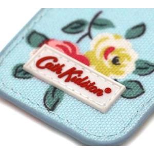 CathKidston キャスキッドソン 595131 Dusty Blue キーフォブ/キーリング キーホルダー ハットンローズ ダスティブルー|j-sekine2nd|03