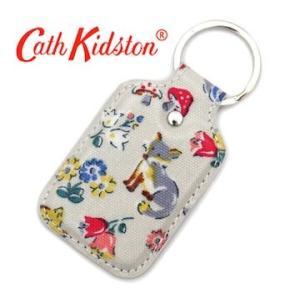 CathKidston キャスキッドソン 595124 Stone キーフォブ/キーリング キーホルダー フォレストアニマルズ ストーン|j-sekine2nd