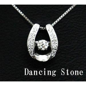 Dancing Stone ダンシングストーン K18WG ホワイトゴールド ダイヤモンド ネックレス ペンダント 0,110ct SSD-0060 j-sekine2nd