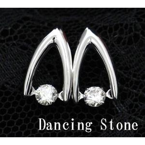 Dancing Stone ダンシングストーン K18WG ホワイトゴールド ダイヤモンド ピアス トータル0,300ct GFE-0007 j-sekine2nd
