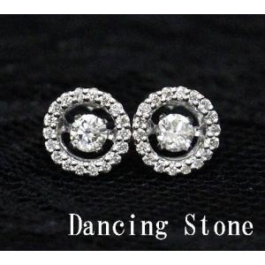 Dancing Stone ダンシングストーン K18WG ホワイトゴールド ダイヤモンド ピアス トータル0,320ct FTWE-0026 鑑別書付 j-sekine2nd