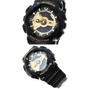 CASIO カシオ G-SHOCK GA-110GB-1AJF 腕時計 デジアナ ブラック×ゴールド|j-sekine2nd|02