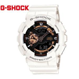 CASIO カシオ G-SHOCK GA-110RG-7AJF 腕時計 Rose Gold Series デジアナ ホワイト×ブラック×ローズゴールド|j-sekine2nd