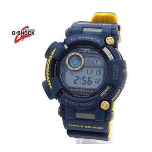 CASIO カシオ G-SHOCK GWF-D1000NV-2JF FROGMAN フロッグマン Master in NAVY BLUE ネイビー×イエロー 腕時計 トリプルセンサー ソーラー電波|j-sekine2nd