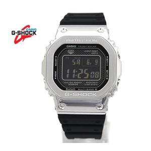CASIO カシオ G-SHOCK GMW-B5000-1JF シルバーカラー×ブラック メタルベゼル 樹脂バンド デジタルソーラー電波 スマートフォンリンク|j-sekine2nd
