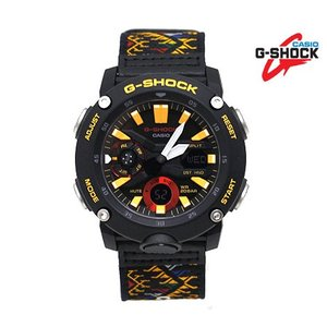 CASIO G-SHOCK GA-2000BT-1AJR カシオ ブータン王国 ルンタ Traditional Pattern Series Bhutan Textile メンズ 腕時計 ブラック|j-sekine2nd