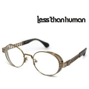 Less than human レスザンヒューマン ENIGMA 9610 メガネフレーム 伊達眼鏡 ブロンズ j-sekine2nd