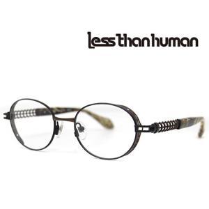 Less than human レスザンヒューマン メガネフレーム OMNI 9610G 伊達眼鏡 アンティックブロンズ|j-sekine2nd