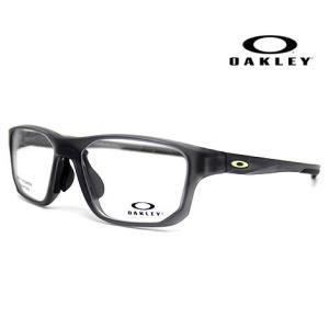 OAKLEY オークリー OX8142-0256 メガネフレーム CROSSLINK FIT A 伊達メガネ クロスリンク サテングレースモーク 正規商品|j-sekine2nd