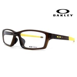 OAKLEY オークリー OX8041-0356 メガネフレーム CROSSLINK Pitch 伊達メガネ クロスリンク バーク 正規商品|j-sekine2nd