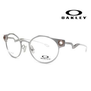 OAKLEY オークリー OX5141-0350 メガネフレーム DEADBOLT 伊達メガネ デッドボルト サテンクローム 正規商品|j-sekine2nd
