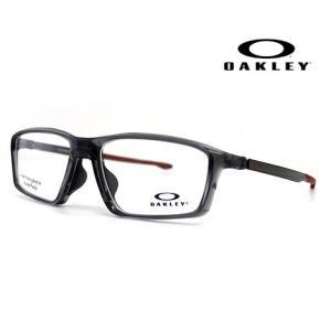 OAKLEY オークリー OX8138-0355 メガネフレーム CHAMBER 伊達メガネ チャンバー ポリッシュドグレースモーク 正規商品|j-sekine2nd