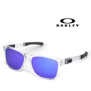 OAKLEY オークリー OO9272-05 サングラス CATALYST カタリスト ポリッシュドクリアー×ヴァイオレットイリジウム 正規商品|j-sekine2nd